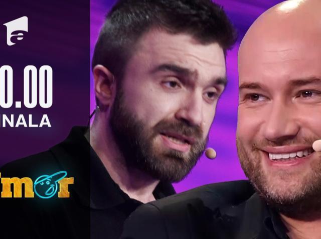 """Ștefan Nistor a ales să facă un roast în finala iUmor. Delia a reacționat: """"Da' nu ai zis nimic de Cheloo"""""""