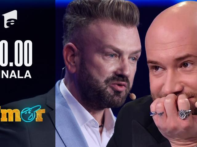 """Alin Georgescu a venit în finala iUmor cu un număr care i-a surprins pe jurați. Cheloo: """"De ce ai făcut asta, doctore?"""""""