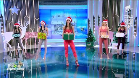 Antrenament cu ajutorul cutiei de cadouri. Fitness cu Diana Stejereanu, la Neatza cu Răzvan și Dani