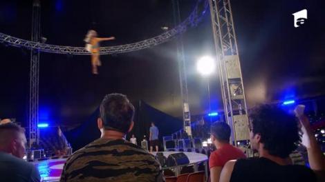 Poftiți la circ 2020, ediția 2. Cum a reacționat Margherita când a rămas suspendată la 10 metri, în mijlocul circului