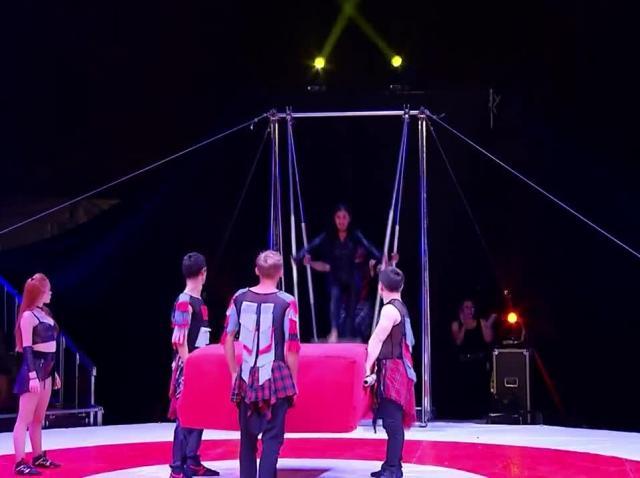Poftiți la circ 2020, ediția 8. Daniela Crudu, număr periculos la circ! Ce a putut să facă în aer