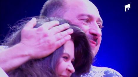 Daria, fata lui Romică Țociu primeste un tort de ziua ei, chiar de la Nea Mărin