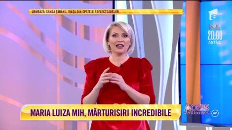 """Maria Luiza Mih, cântăreaţa designer, mărturisiri incredibile. Cum arată casa cu """"șifonierul-garaj"""""""