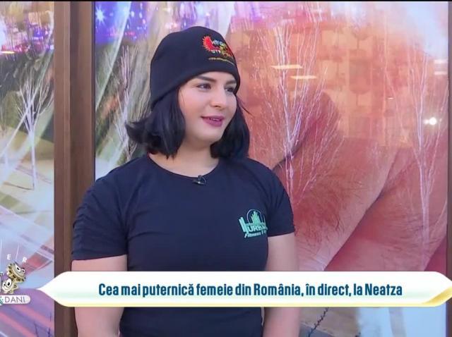 Adriana Geamănu, cea mai puternică femeie din România, se pregătește pentru primul concurs de culturism