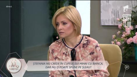 Ștefania clarifică motivul revenirii în casa Mireasa: Trebuie să clarific niște probleme aici!