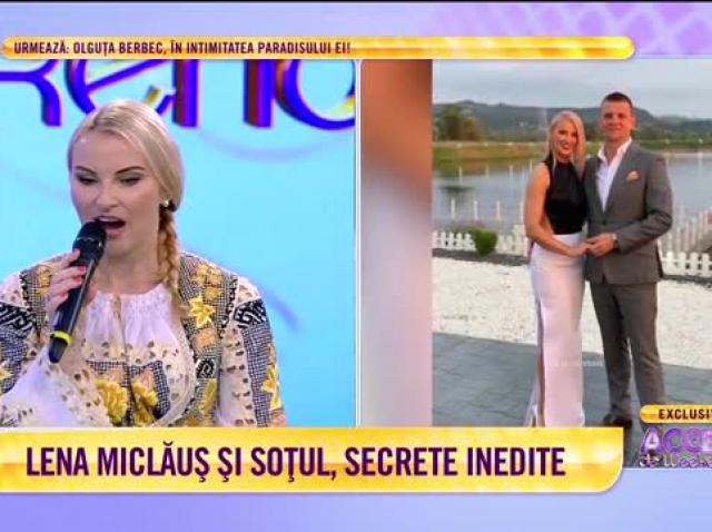 Lena Miclăuș și soțul, secrete inedite din familie
