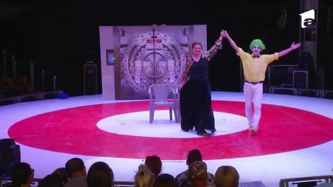 Poftiți la circ 2020, ediția 13. Maria Buză a făcut show total alături de clovnul Maurizio, la Circul Bellucci - VIDEO