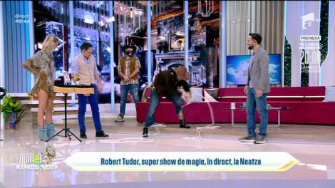 Robert Tudor, super show de magine, în direct, la Neatza