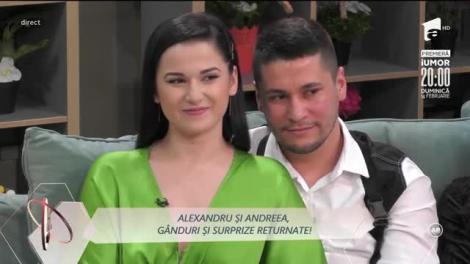 Andreea, surpriză romantică pentru Alexandru!