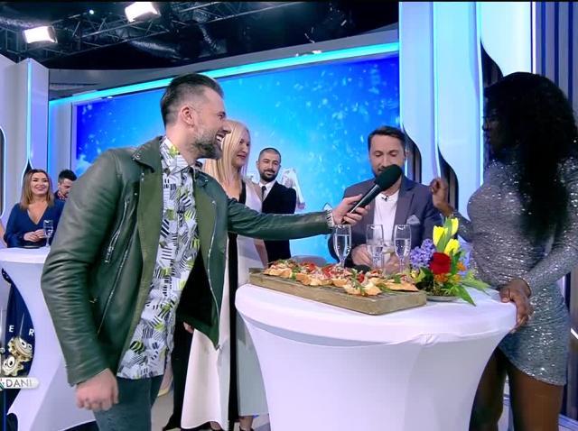 Iubita lui Florin Ristei, Naomi Hedman, show la Neatza. Fosta concurentă X Factor a cântat în limba română