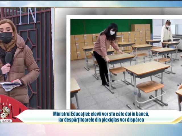 Copiii vor merge la școala de luni, 8 februarie. În ce condiții vor sta la cursuri