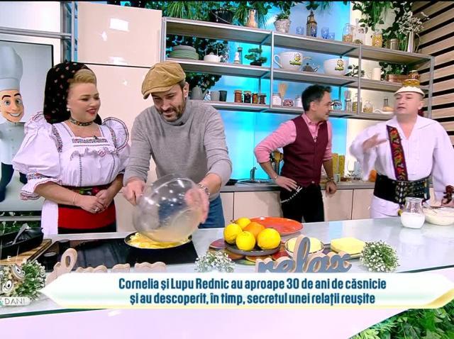 Cornelia Rednic, bucătăreasă pricepută. Artista a pregătit un mic dejun copios