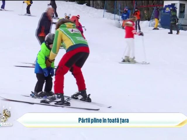 Activități de sezon pentru copii, la munte