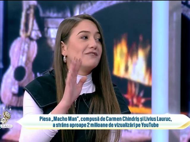 Carmen Chindriș, succes uriaș pe TikTok și Youtube. Mesajul artistei pentru fani
