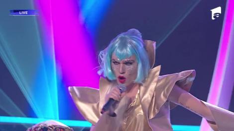 """Radu Ştefan Bănică se transformă în Lady Gaga - """"Bad Romance"""", la Te cunosc de undeva!"""