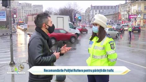 Recomandările Poliției Rutiere pentru părinții din trafic