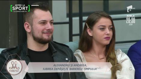 Andreea și Alexandru, momente dificile petrecute în singurătate