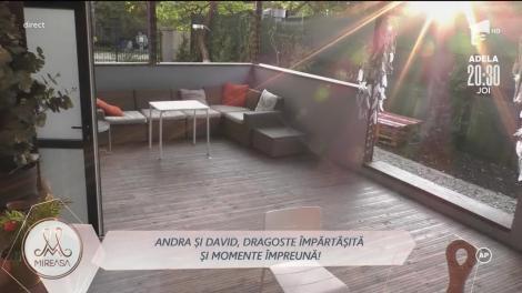 Andra și David, dragoste împărtășită și momente împreună