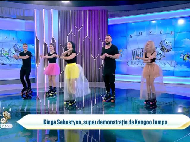 Kinga Sebestyen, super demonstrație de Kangoo Jumps