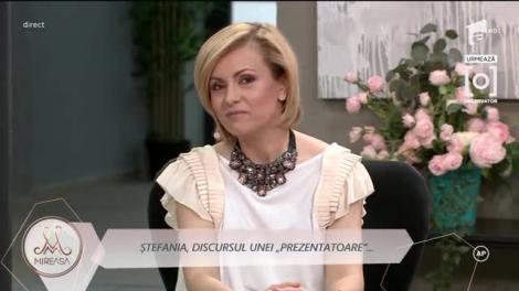 Simona Gherghe a fost înlocuită de Ștefania ca prezentatoare la emisiunea Mireasa