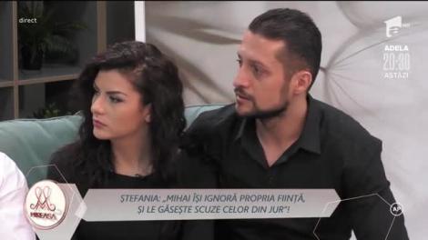 Bianca și Mihai, văzuți prin ochii Ștefaniei: Eu nu îl refuzam să mă pupe!