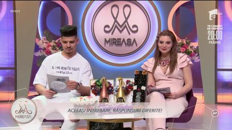 Andra și Armando, o surpriză la pachet pentru concurenții din casa Mireasa