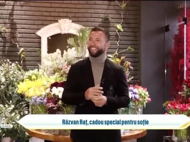 Răzvan Raț, cadou special pentru soție, de Ziua Îndrăgostiților