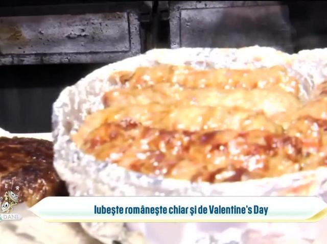 Iubește românește chiar și de Valentine's Day, cu mici și bere