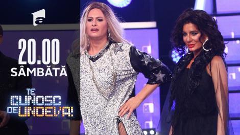 """Ana Baniciu și Raluka se transformă în Jennifer Lopez & Cardi B - """"Dinero"""", la Te cunosc de undeva!"""