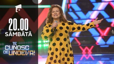 Maria Buză și Taraful George Pătrașcu cântă pe scena Te cunosc de Undeva