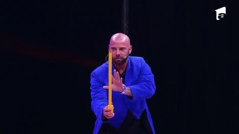 Giani Kiriță are cel mai tare moment de magie, pe scena circului Bellucci