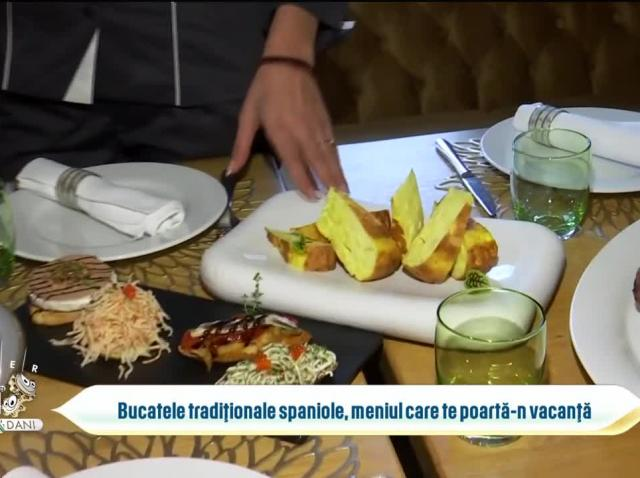 Bucatele tradiționale spaniole, meniul care te poartă-n vacanță