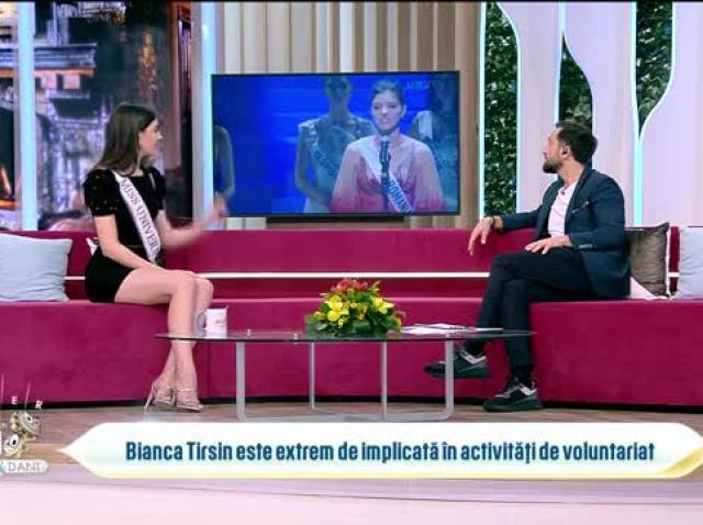 Bianca Tirsin, Miss Universe România 2020, în direct, la Neatza