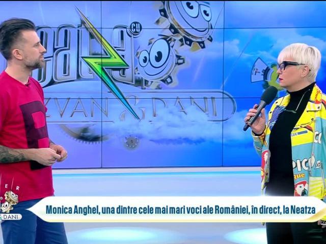 Monica Anghel, una dintre cele mai mari voci ale României, în direct, la Neatza