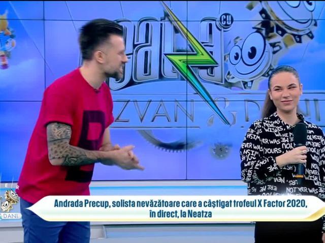 """Andrada Precup, în direct, la Neatza: """"Urmează să scot un single"""""""