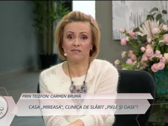 Carmen Brumă i-a pus la slăbit pe concurenții din casa Mireasa!