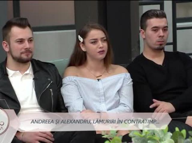 """Andreea, reproșuri la adresa lui Alexandru: """"A zis că putem să ne despărțim"""""""