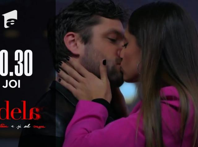 Andreea îl sărută pe Mihai! Reacția Adelei