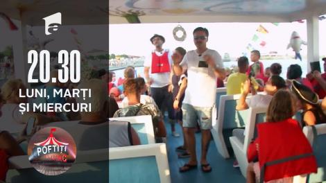 Liviu Vârciu, căpitan de vapor la Poftiți la circ: Fiecare pentru el!