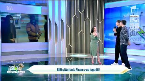 Cum și-a cerut Antonio Pican iubita în căsătorie