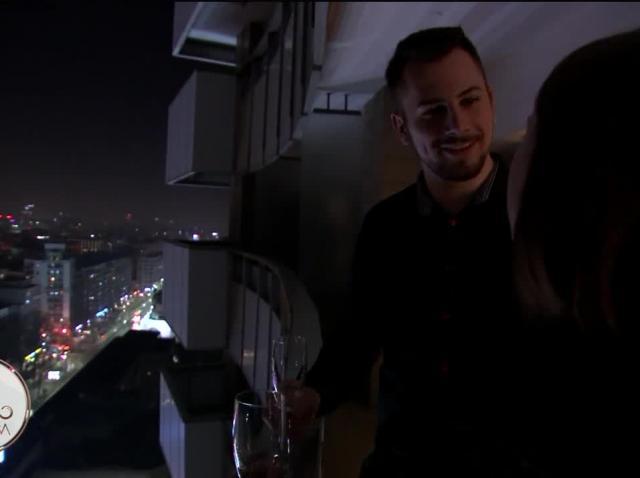 Andreea și Alexandru, noapte de vis la hotel InterContinental