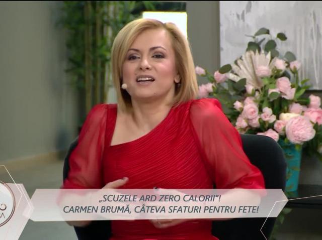 Carmen Brumă, recomandări nutriţionale pentru fetele din casa Mireasa
