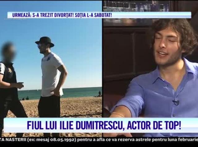 Toto, fiul lui Ilie Dumitrescu, actor de top! Tânărul vrea să joace rolul de fotbalist într-un film la Hollywood