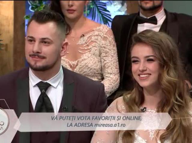 Andreea și Alexandru, dragoste de poveste. Ea s-a înscris în emisiunea Mireasa pentru el!