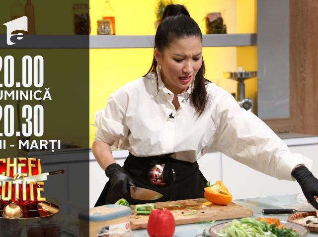 Minh Binh,  fosta concurentă a lui Cătălin Scărlătescu, a revenit la Chefi la cuțite