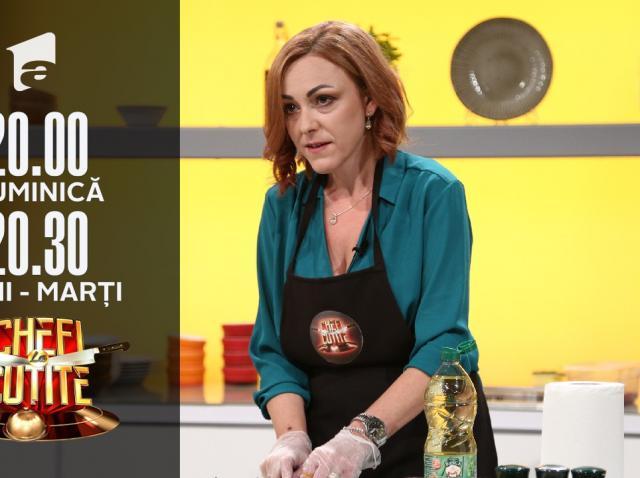"""Profesoara Anca Fati la Chefi la cuțite: """"Predau din bucătărie"""""""