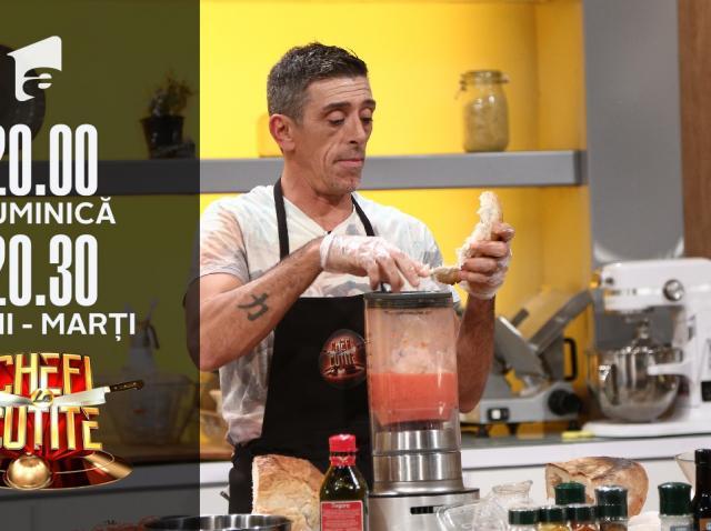 Francisco Jose Garcia Lopez, spaniolul îndrăgostit de România, la Chefi la cuțite