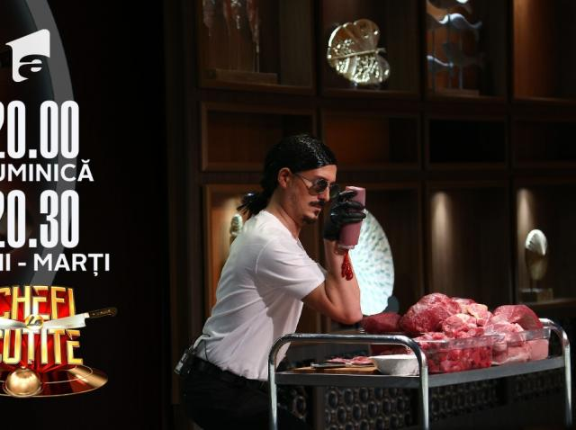 """Salt Bae a venit la Chefi la cuțite! George Tănase: """"Am pregătit ceafă maltratată"""""""