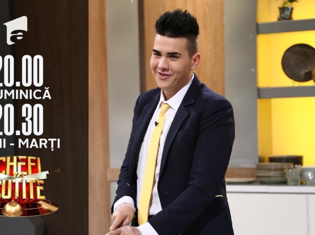 De Angelo nu știe să taie pătrunjelul, dar vrea să câștige Chefi la cuțite!