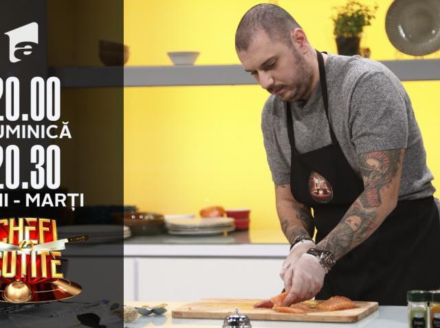 Bărbierul Radu, patron de restaurant în Ibiza, la Chefi la cuțite
